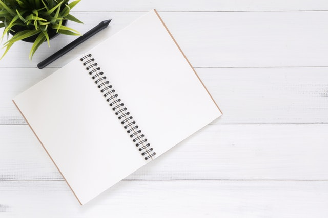 Get into the habit of recording your great ideas down